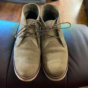 Men's Redwing Grey/Moss Chukka Boots 11.5D